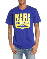 Casual Industrees - Pnw Shield T-shirt - Lyst