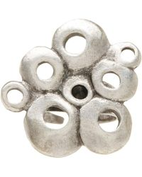 TMRW STUDIO - Abstract Bubble Cluster Cutout Adjustable Ring - Lyst