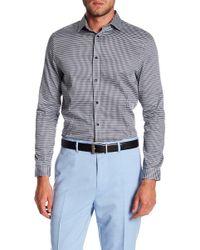 Karl Lagerfeld - Printed Long Sleeve Modern Fit Shirt - Lyst