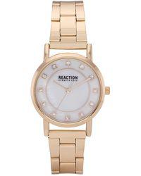 Kenneth Cole Reaction Women's Classic Crystal Bracelet Watch - Metallic