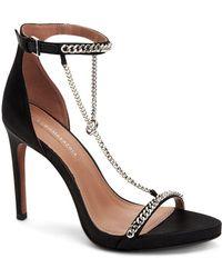 BCBGMAXAZRIA Ella Dress Sandal Heeled - Black