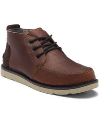 TOMS - Chukka Waterproof Leather Boot - Lyst