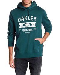 Oakley | Varsity Fleece Hoodie | Lyst