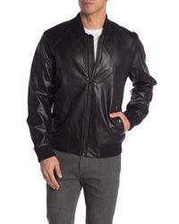 f63afe70eeeb Michael Kors - Faux Leather Jacket - Lyst