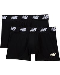"""New Balance - Performance Everyday 3"""" Trunks - Pack Of 2 - Lyst"""
