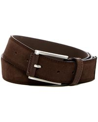 Martin Dingman - Twill Design Italian Leather Belt - Lyst