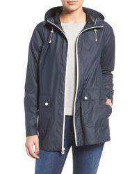 Cole Haan - Hooded Rain Jacket - Lyst