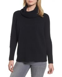 Caslon - Cowl Neck Jumper (regular & Petite) - Lyst