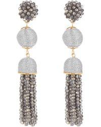BaubleBar - Faceted Ball Drop Tassel Earrings - Lyst