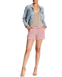 Three Dots - Double Face French Terry Shorts - Lyst