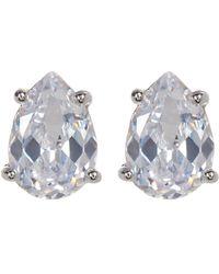 Marchesa | Pear Cut Stud Earrings | Lyst