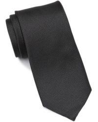 Calvin Klein Modern Oxford Solid Tie - Black