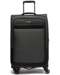 "Ben Sherman - Stirling 24"" Houndstooth Expandable Spinner Luggage - Lyst"