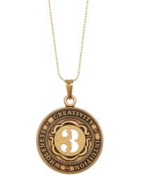 ALEX AND ANI - Numerology Number 3 Charm Necklace - Lyst