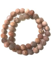 Charlene K - Double Gemstone Bracelet - Lyst