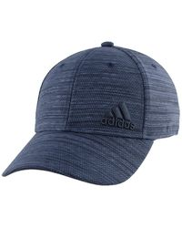 adidas Release Plus Stretch Fit Cap - Blue