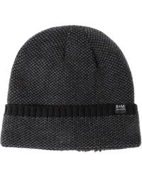Bickley + Mitchell - Cuffed Faux Fur Lined Beanie - Lyst