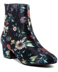 Betsey Johnson - Talia Floral Ankle Boot - Lyst