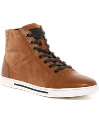 Kenneth Cole Reaction - Fence Around High-top Sneaker (men) - Lyst