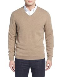 John W. Nordstrom - Cashmere V-neck Sweater (regular & Tall) - Lyst