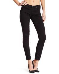 AG Jeans The Prima Cigarette Leg Skinny Jeans - Black