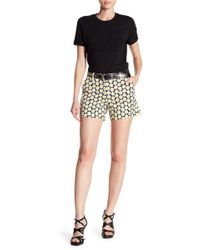 Love Moschino - Floral Printed Shorts - Lyst