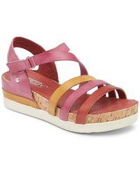 Pikolinos - Rosomar Platform Leather Sandal - Lyst