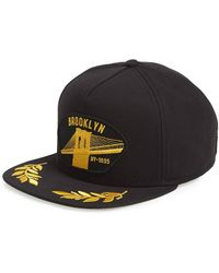 a2006a55a63 Urban Outfitters Mitchell Ness Brooklyn Nets Worldmark 5panel Hat in ...