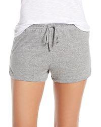 Joe's Jeans Retro Pajama Shorts - Gray