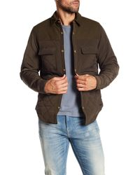 Scotch & Soda - Quilted Shirt Jacket - Lyst