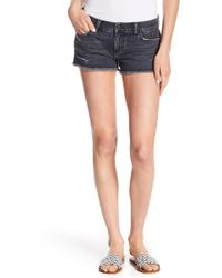 Siwy - Camilla Ripped Accent Shorts - Lyst