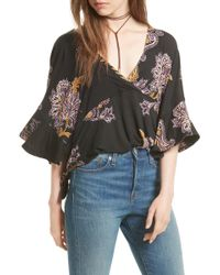 Urban Outfitters - Maui Wowie Palm Print Shirt - Lyst