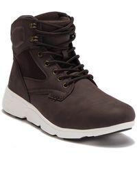 Xray Jeans Capitan High Top Sneaker - Brown
