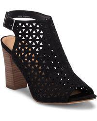 Madden Girl Beverrly Laser-Cut Block Heel Sandal oI0YL