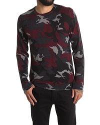 Zadig & Voltaire Kennedy Camo Print Cashmere Sweater - Blue