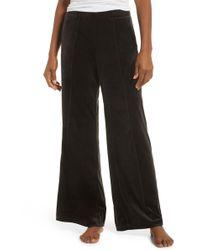 Joe's Jeans Front Seam Flare Pants - Black