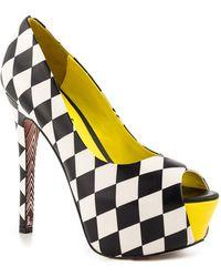 Taylor Says Call Me Platform Stiletto Heel - Black
