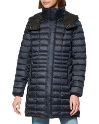 Marc New York Quilted Packable Puffer Coat - Blue