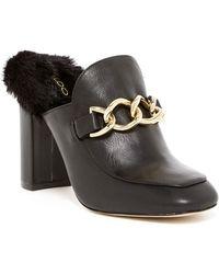 ALDO - Umarella Faux Fur Lined Loafer Mule - Lyst