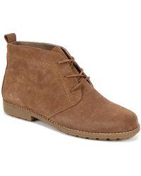 White Mountain Footwear - Auburn Suede Bootie - Lyst