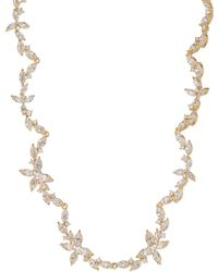 Nadri - Papillon All Around Cz Necklace - Lyst