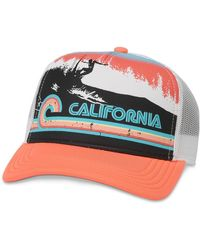American Needle California Riptide Valin 2 Trucker Hat - Multicolor