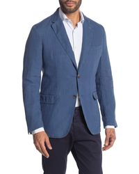 Thomas Pink Shaw Two Button Sport Coat - Blue