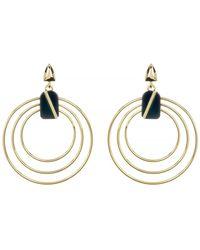 Botkier - Open Circle Drop Earrings - Lyst