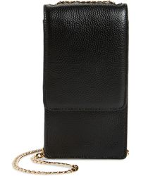 Nordstrom Margaux Wallet On A Chain - Black
