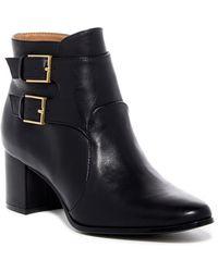 Calvin Klein - Florine Leather Monk Strap Boot - Lyst