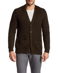 Dockers - Rib Knit Cardigan - Lyst