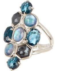 Ippolita - Sterling Silver Rock Candy Cluster Semi-precious Stone Ring - Size 7 - Lyst