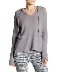 Threads For Thought - Mariha Thermal Knit Hoodie - Lyst