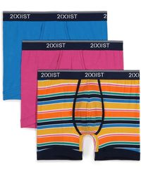 2xist Stretch Boxer Briefs - Pack Of 3 - Multicolour